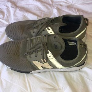 Army Green New Balance Mens Shoes Size 11.5